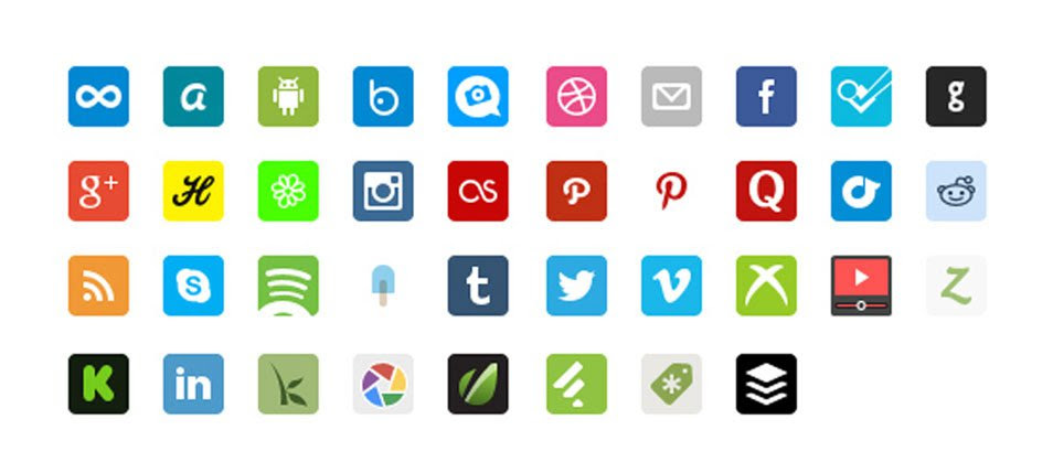 Free Social Icon Pack
