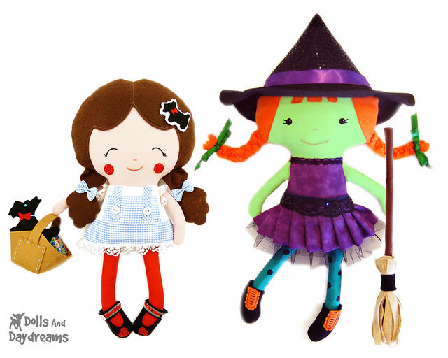Dorothy Doll & Wicked Witch West