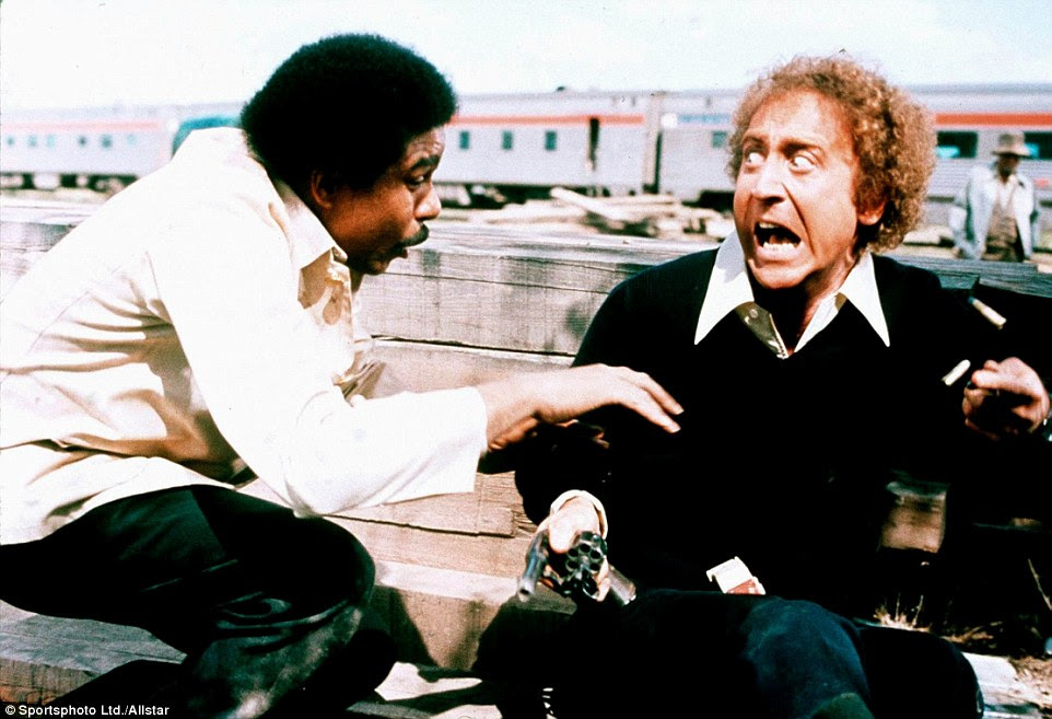 Richard Pryor e Wilder eram colaboradores de longa data.  Os dois na foto acima em Silver Streak 1976 de, um filme que ganhou Wilder uma indicação ao Globo de Ouro de Melhor Ator