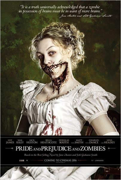 Orgueil et Préjugés et Zombies : Affiche