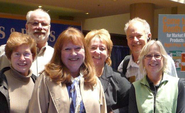 Margaret, Jay, Pat, Monika, Jeff, Emily