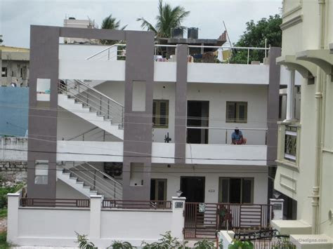 floor building outer elevation designs india latest