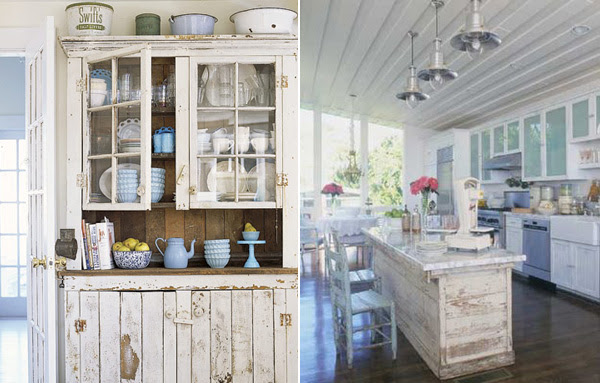 Ideas For Creating Shabby Chic Kitchen Design | InteriorHolic.