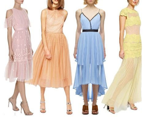 16 Spring Summer Wedding Guest Dresses for 2017   Fun and