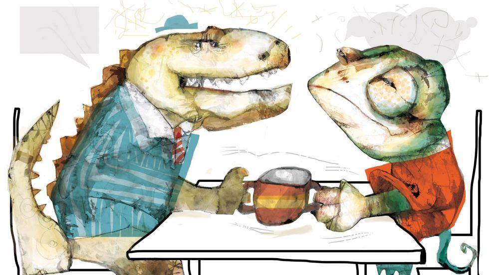 Más allá de dinosaurios y camaleones