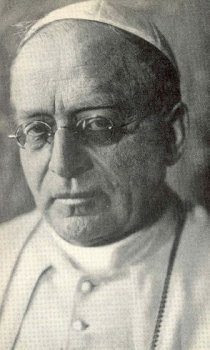 Pius XI (1922-1939): Religious socialism, Christian socialism, are contradictory terms; no one can be at the same time a good Catholic and a true socialist.