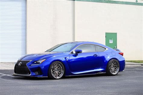 Lexus RCF on ISS Forged Spec B RW 10 Wheels   ISS Forged   Handcrafted for Performance, Custom