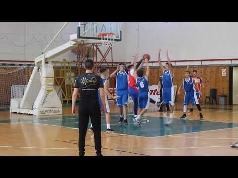 Στιγμιότυπα από τον αγώνα παίδων ΠΚ Νεάπολης-Γαλάζιοι 76-56