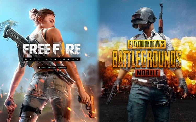 Download Free Fire Vs Pubg Wallpaper