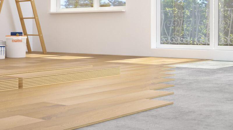 Laminate Flooring Over Concrete, How Do You Install Laminate Flooring On Concrete Slab