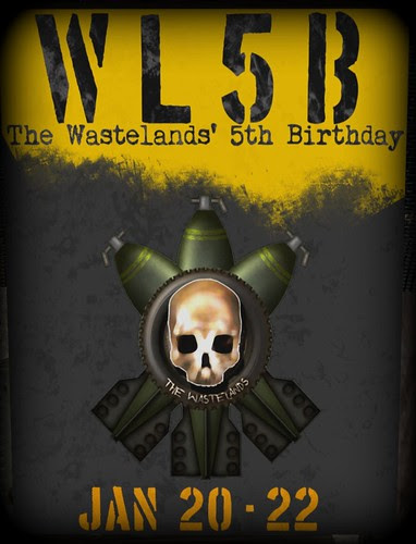 Wastelands 5th Bday