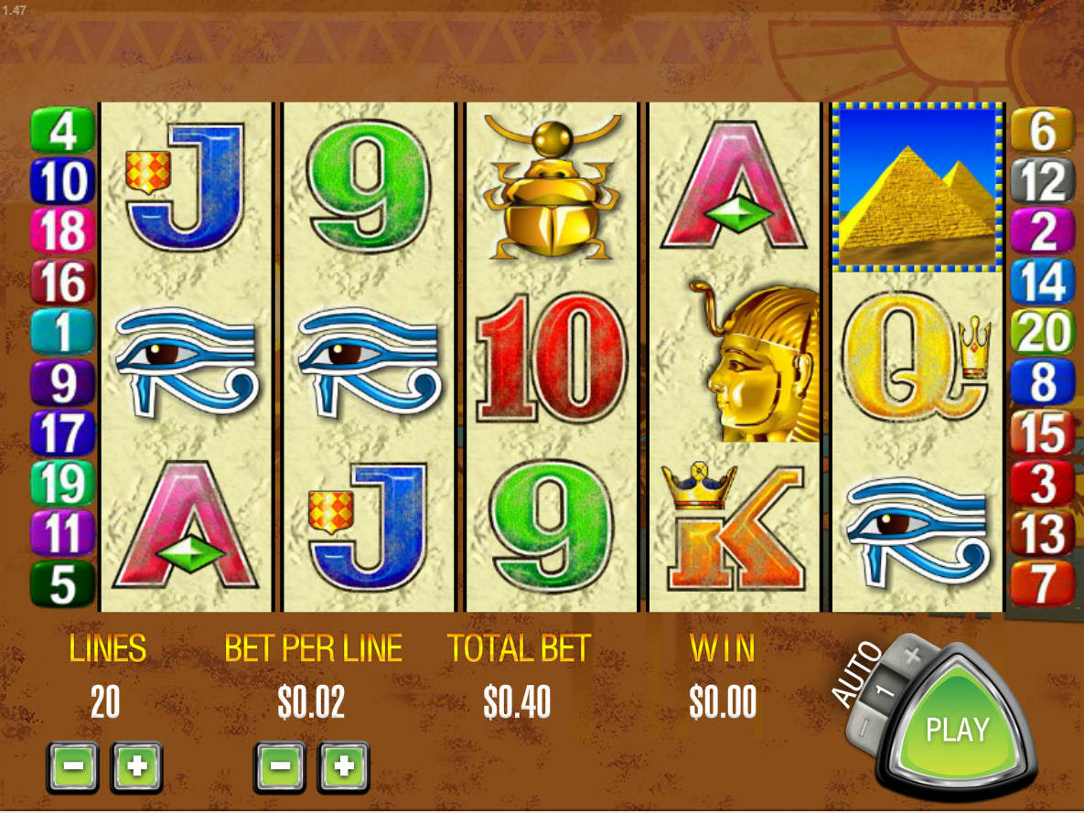 2/28/ · Queen of the Nile free slot is a classic online slots game from Aristocrat software provider and is the second by popularity after the 5 Dragons slot machine with free slot demo version available on our website.It possesses 5 reels, 3 symbol rows, 20 paylines, scatters, wilds, a gamble feature & free spins.Users may choose to play 20, 15, 10 lines or 1 line and set the number of coins per /5().