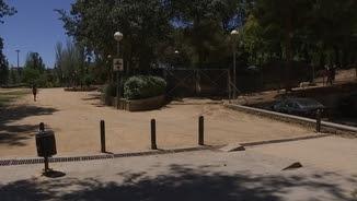 Zona del carrer Menéndez Pidal de l'Hospitalet de Llobregat on hi ha hagut l'atropellament