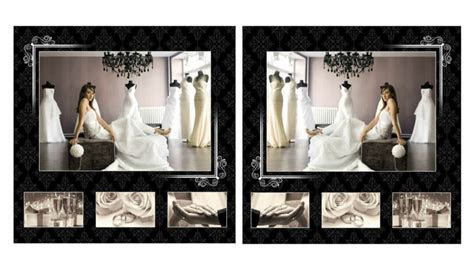 ELEGANT WEDDING ALBUM PSD TEMPLATES Volumes 8,9,13 & 14   eBay