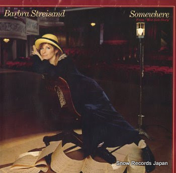 STREISAND, BARBRA somewhere