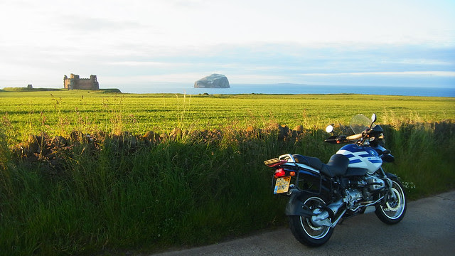 Tantallon, the Bass Rock and the GS