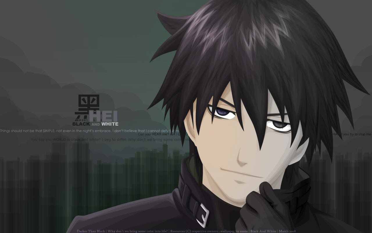 Dtb Darker Than Black Wallpaper 16921699 Fanpop