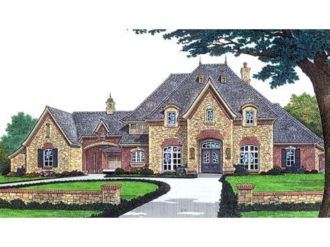 stefano luxury european home plan   house plans