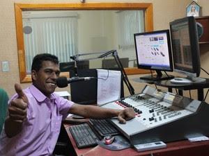 Radialista trabalhava na Difusora AM há dez anos (Foto: Divulgação/ Difusora AM)