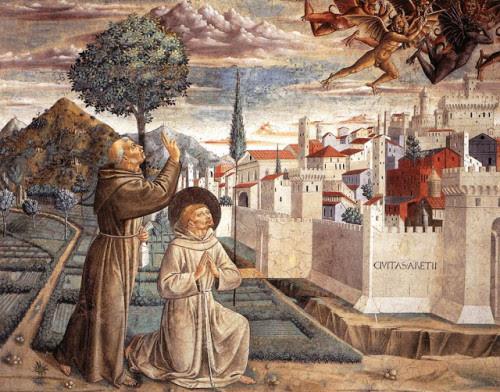 san francisco santo domingo y los demonios
