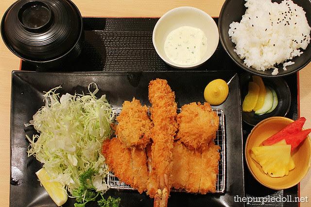 Seafood Katsu Set 1 P485