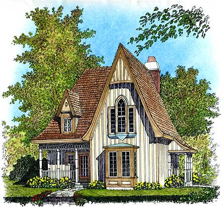 Gothic Revival Cottages | ferrebeekeeper