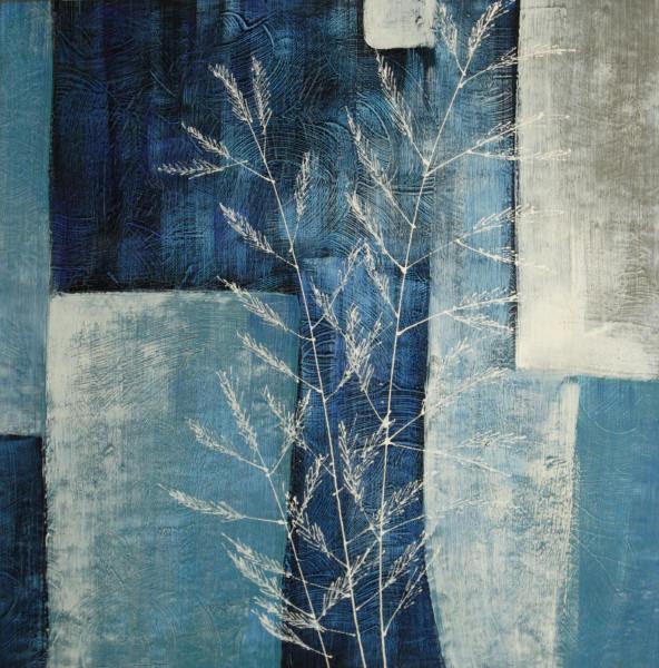 Cuadros Modernos Abstractos Azules