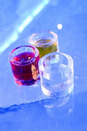 Copos de gelo do Ice Bar Brasil Kirin - Foto: Divulgação