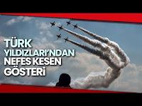 Türk Yıldızları'ndan TEKNOFEST'te Gösteri Şovu - İhlas Haber Ajansı