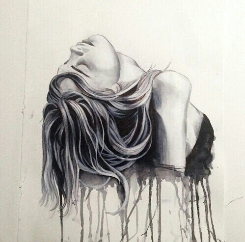 anxiety, art, depression, drawing, mindless - image ...