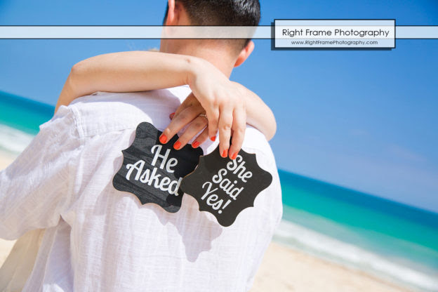 Hawaii Engagement Pictures At Waimanalo Beach By Right Frame Photography