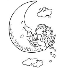 Moon Fairy Coloring Pages at GetDrawings | Free download