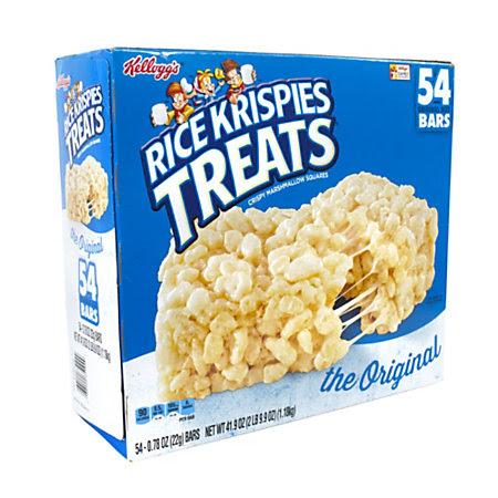 Kelloggs Rice Krispies Treats 0.78 Oz Bars Box Of 54 by ...