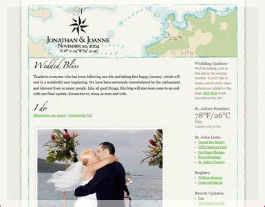 Beautiful example of a destination ?blog style? wedding