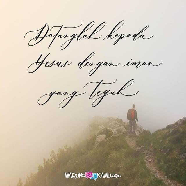 Berharap kepada Tuhan Saja