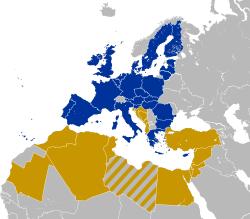 EU27-2008-Union for the Mediterranean.svg