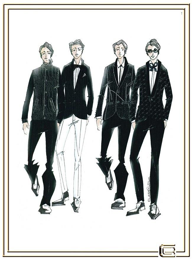 1 CLASS Roberto Cavalli Menswear SS2013