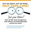 Out of sight, out of mind ... not this time! Did you know one of the most dangerous side effects of chemotherapy cannot be seen?