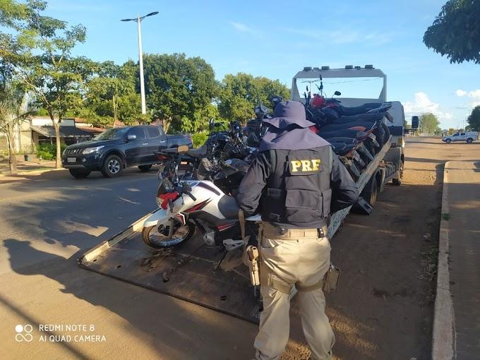Operação apreende mais de 50 motocicletas com irregularidades na BR-135