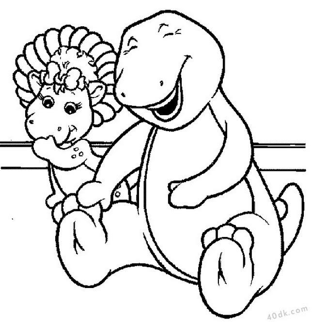 40dkcom Dinozorlar Boyama Sayfası 765 40dk Eğitim Bilim