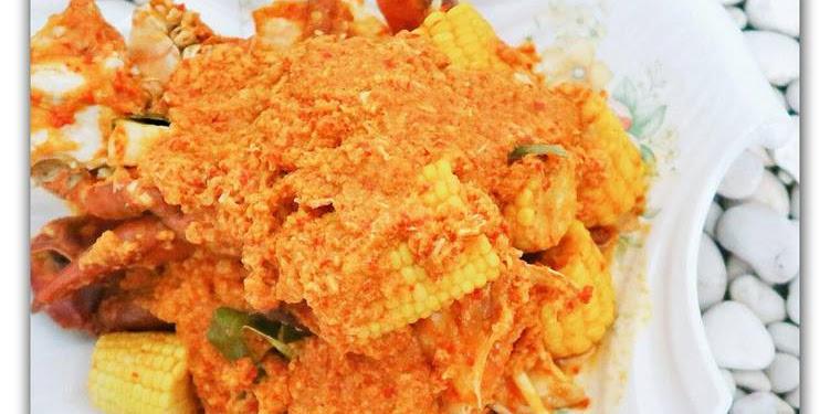 Resep Kepiting + Cumi Saus Padang Oleh Ellen Dahana Susanto