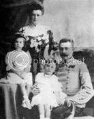 El archiduque Francisco Fernando de Habsburgo-Lothringen y su familia. Foto cortesía del World War One Image Archive.