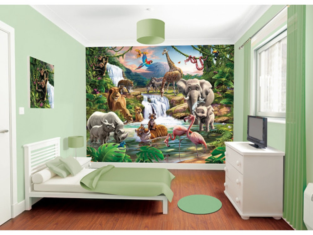 Jungle  themed bedroom  ideas  that kids will love FADS
