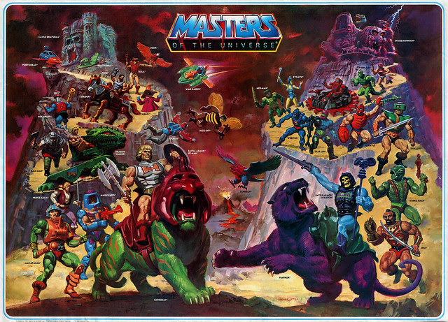 Masters Of The Universe - 2 (painting by William George)
