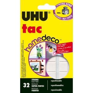 UHU Tac HomeDeco Adhesive Putty, 2.12 oz
