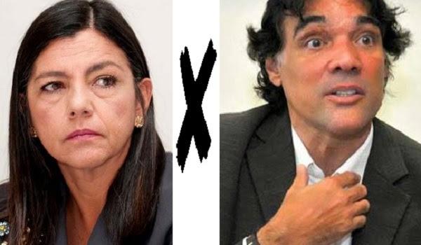 Governadora Roseana Sarney e o seu sucessor Edinho Lobão