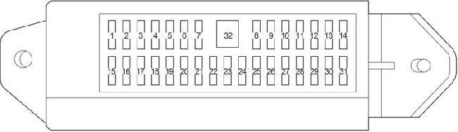 08 18 Toyota Sequoia Fuse Box Diagram