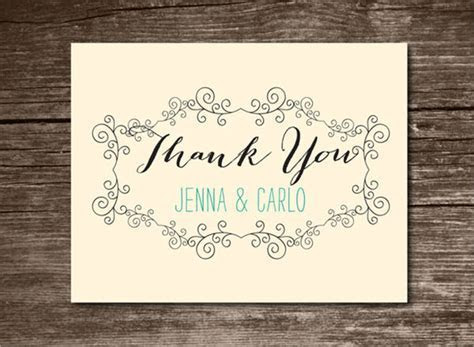 23 Printable Thank You Card Templates to Download   Sample