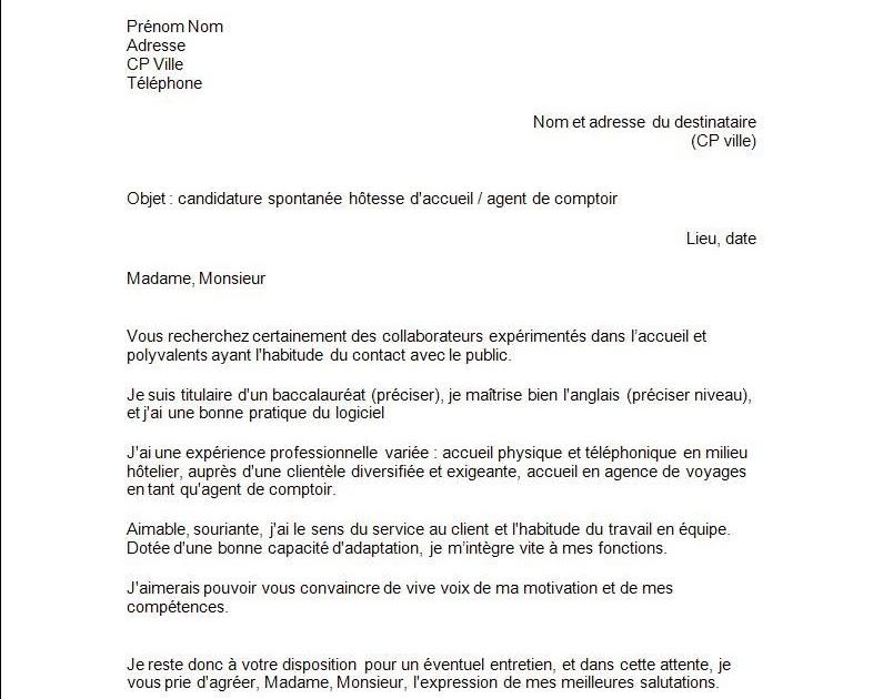 cover letter exle exemple de lettre de motivation normale
