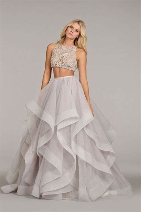 12 Daring Two piece Wedding Dresses for Unique Brides
